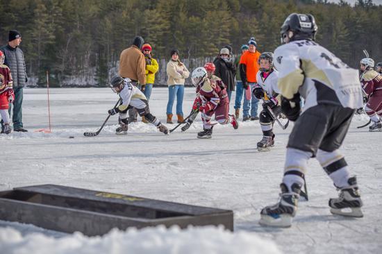 Youth Pond Hockey Festival