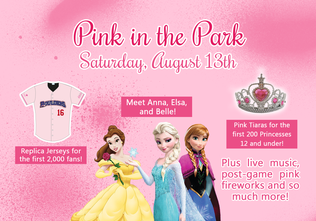 Help support the fight agaisnt breast cancer with the Boulders Pink in the park Pack, benefiting the Center for Breast Health at Good Samaritan Hospital.