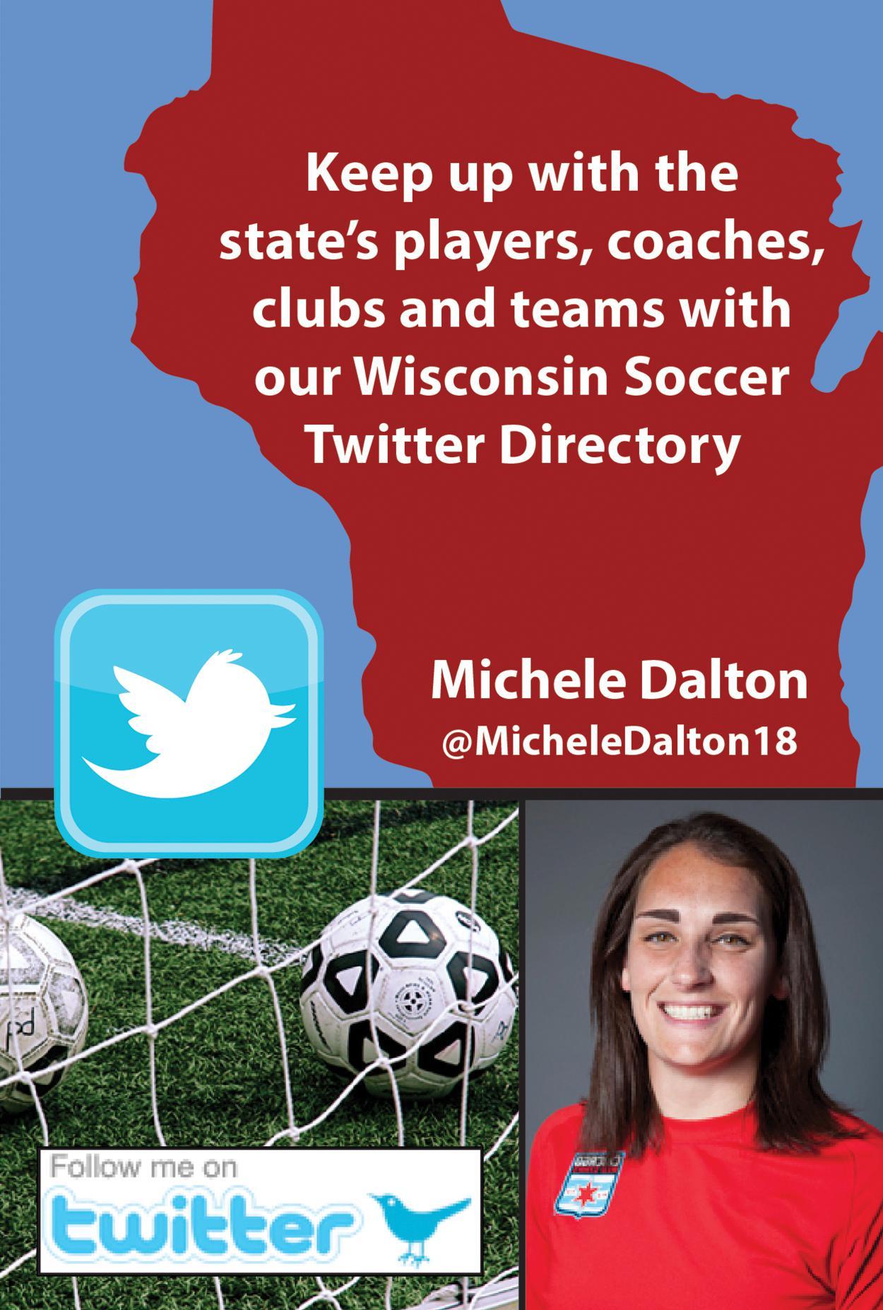 Wisconsin Twitter Directory promo: Michele Dalton