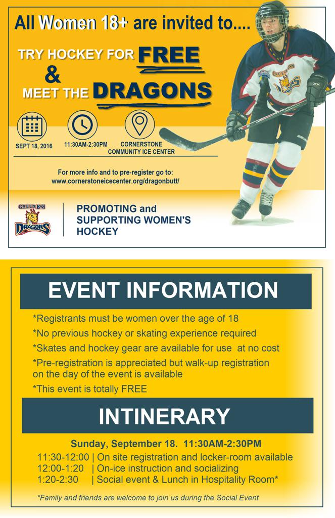 Flyer for Meet the Dragons
