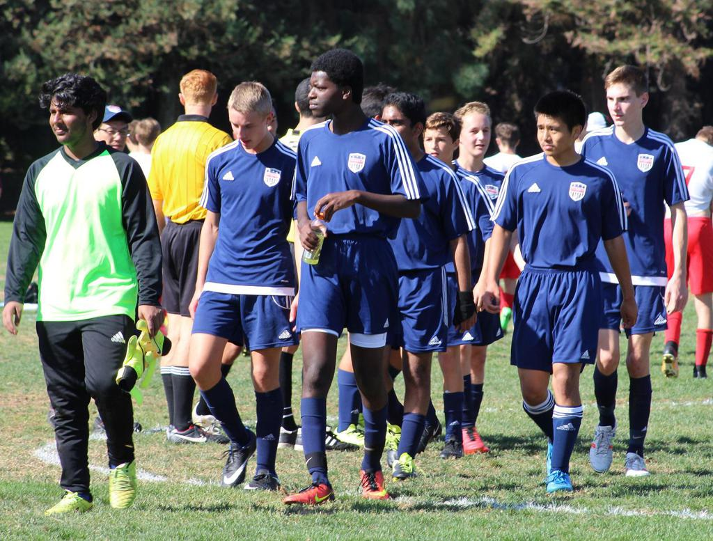 San Ramon FC youth soccer boys players