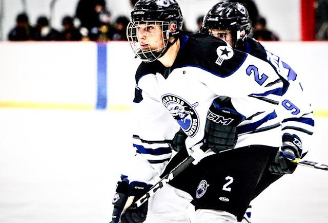 David Hejduk (pictured) and his brother are in separate states this fall but the twins are committed to collegiate careers at Harvard. While Marek plays in Michigan, David continues skating with the Colorado Thunderbirds. Photo submitted by Zlata Hejduk