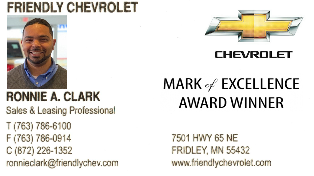 "Ronnie ""Now"" Clark @ Friendly Chevrolet"