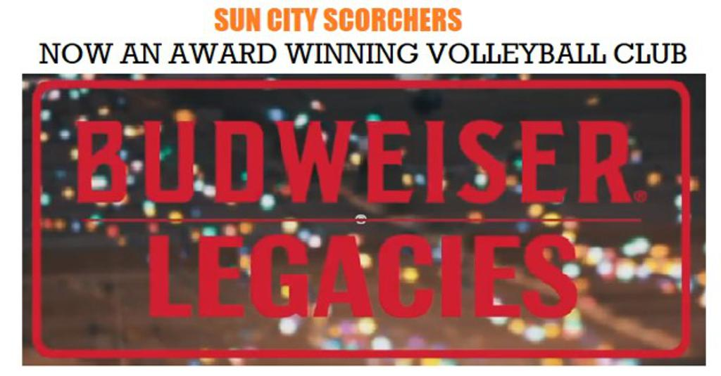 Click on Picture to view the honor that L&F Distributors and Budweiser bestowed on Tori and the  Sun City Scorchers.