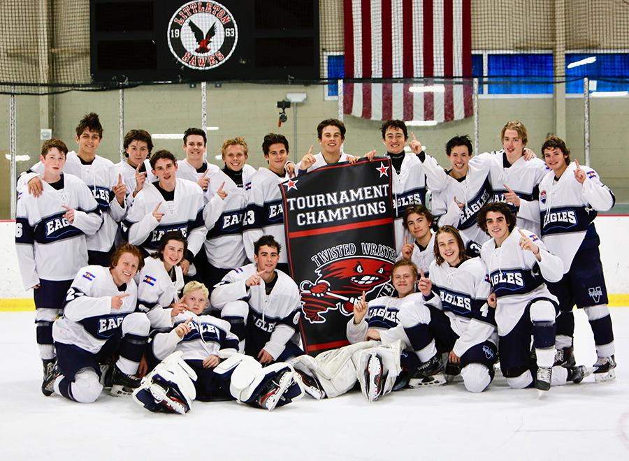 Valor Christian took flight in a defeat of Regis Jesuit to claim the Tier 1 championship at this year's CPHL Twisted Wrister Tournament. Photos by Steven Robinson, SportsEngine