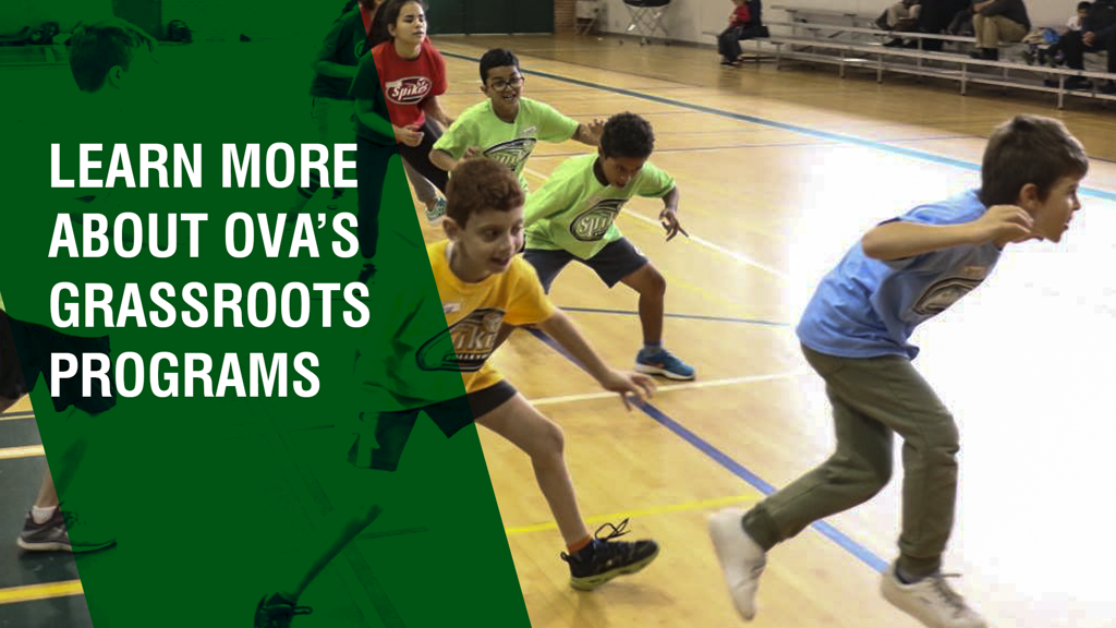 Learn more about OVA Grassroots/youth development programming