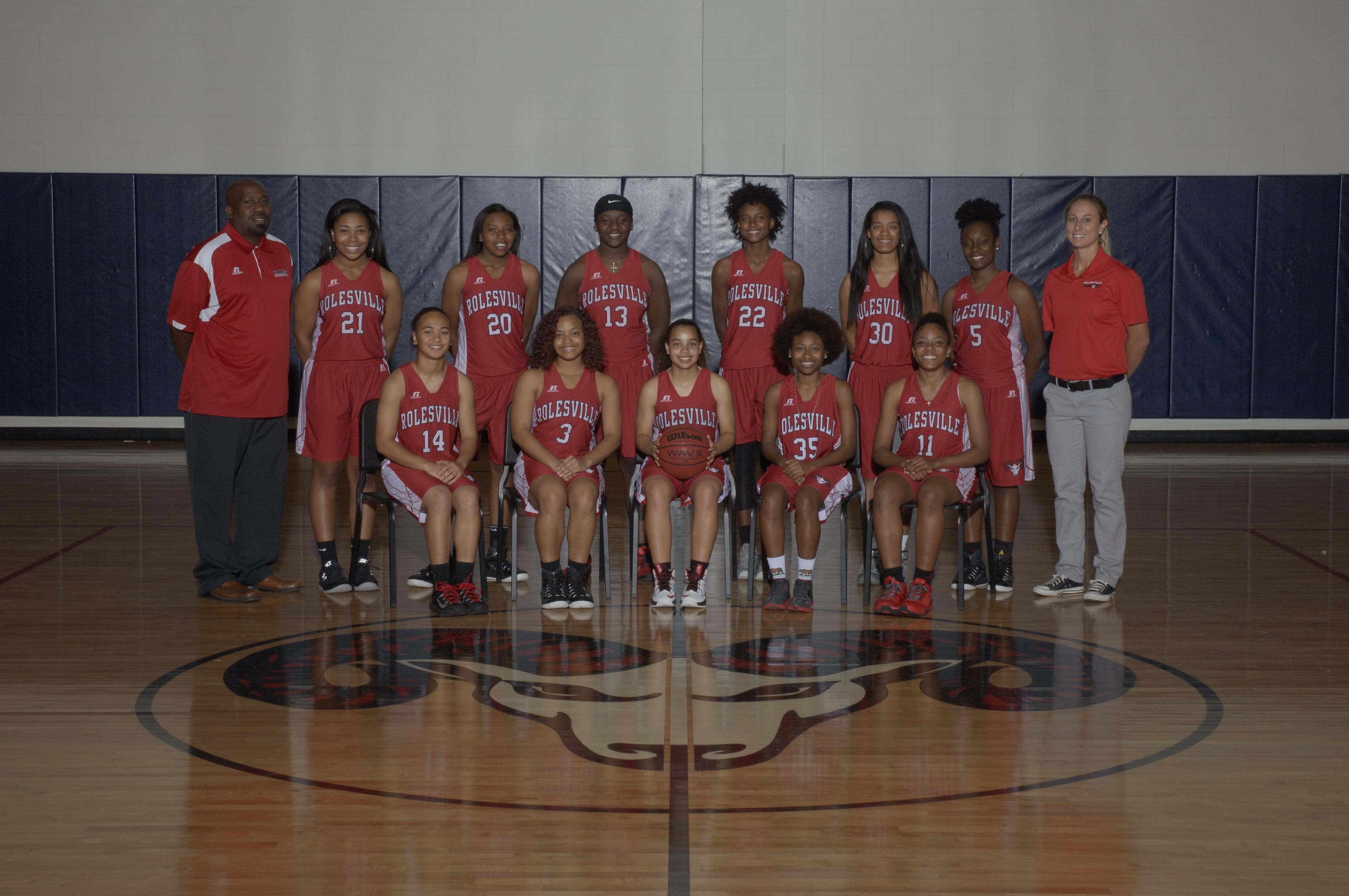 Women's Basketball team photo