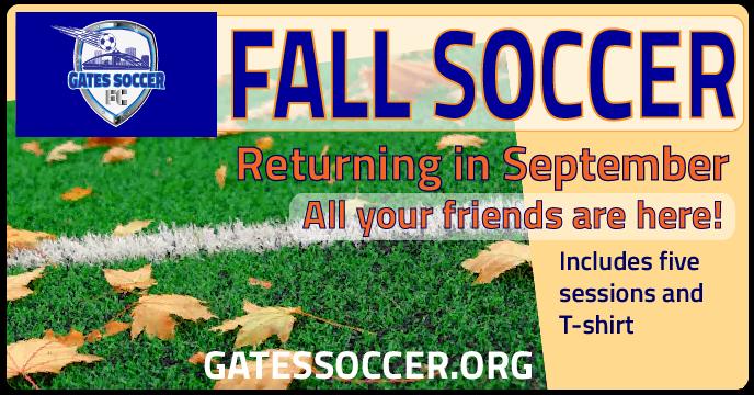 Fall Soccer Is Back