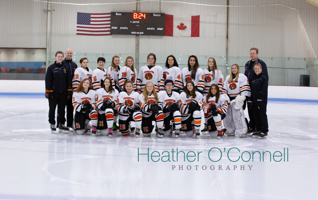 PRINCETON TIGER LILIES U16 2019-2020 TEAM PHOTO