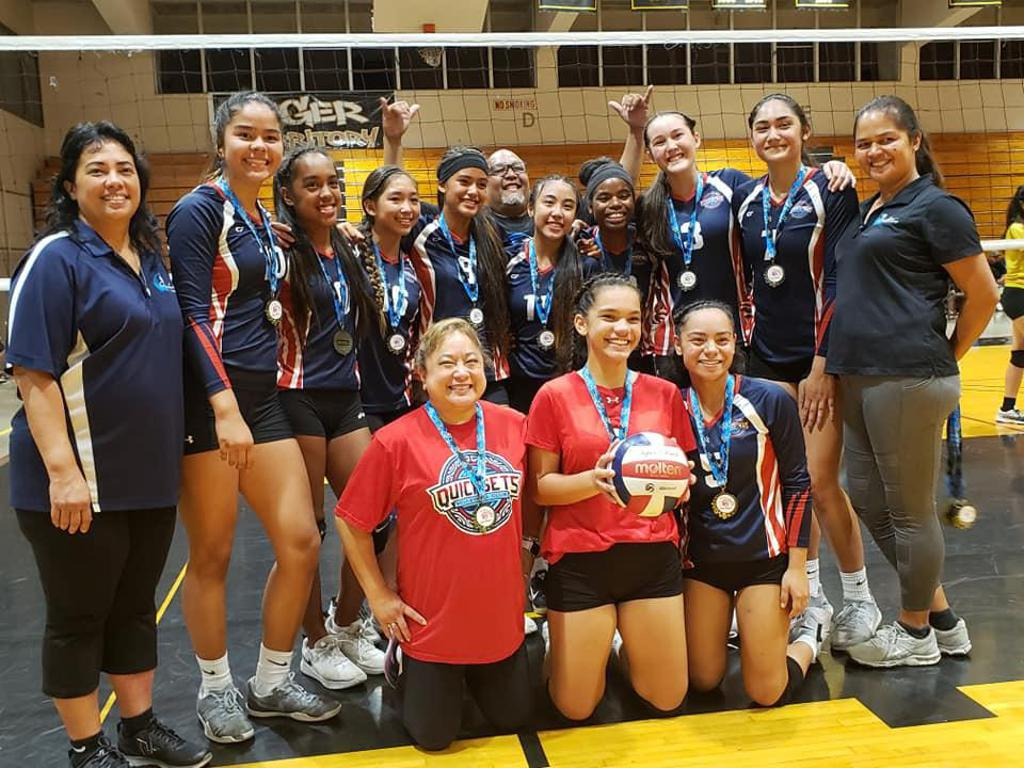 Congratulations to our Quicksets 16's!  16's Aloha Regional Champions!