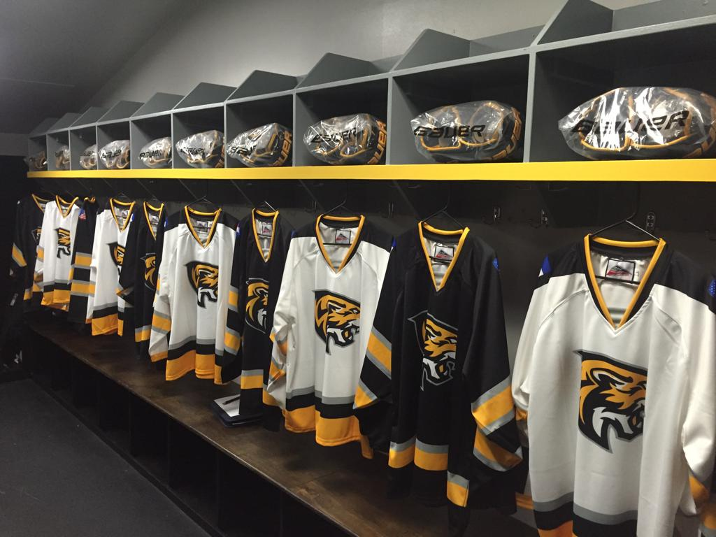 Custom Colorado Springs Hockey Jerseys Tigers AAA hockey team
