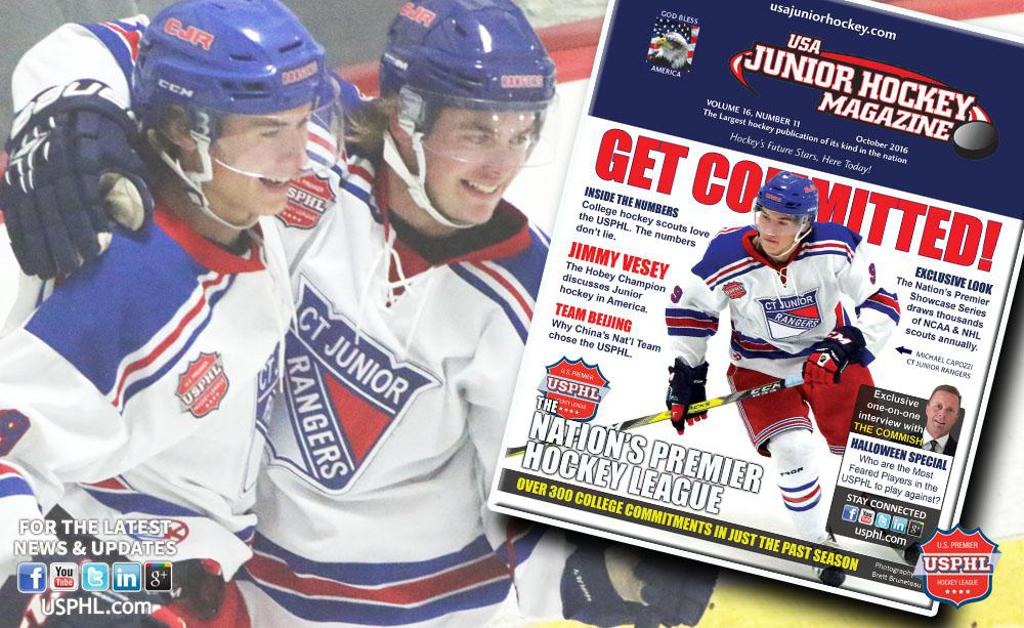 Usa Junior Hockey Magazine Usphl Is The Place For Commitments