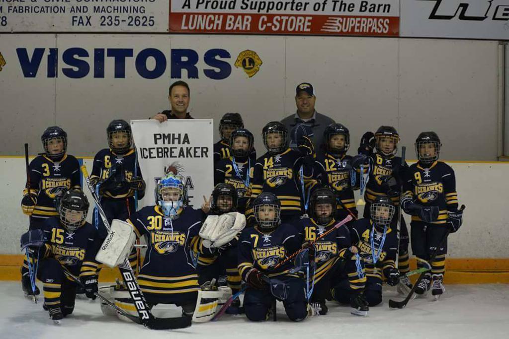 Novice Icehawks Icebreaker 2016 Champs