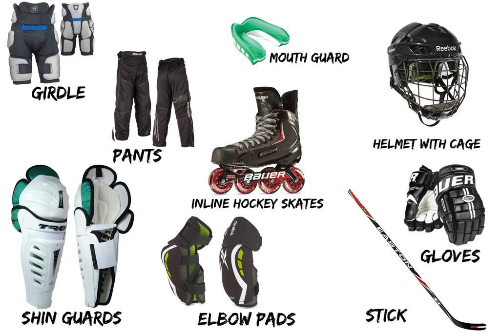 gear required for youth league
