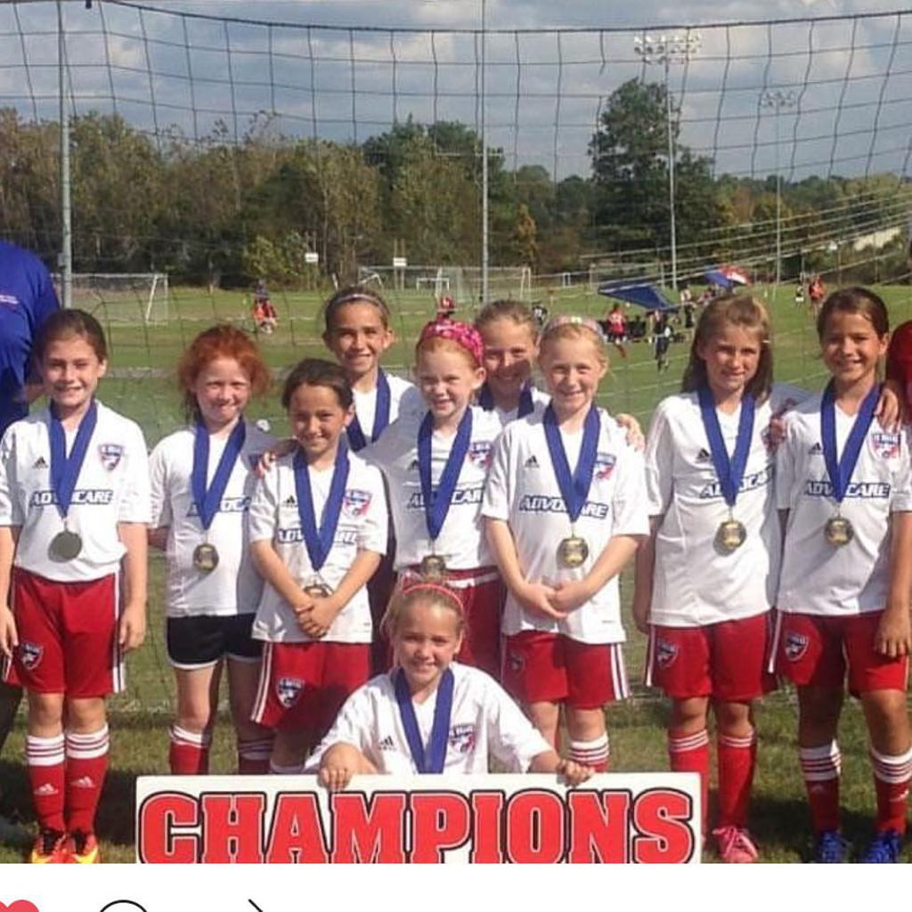 07 Girls Cookeville Rotary Classic Champs!