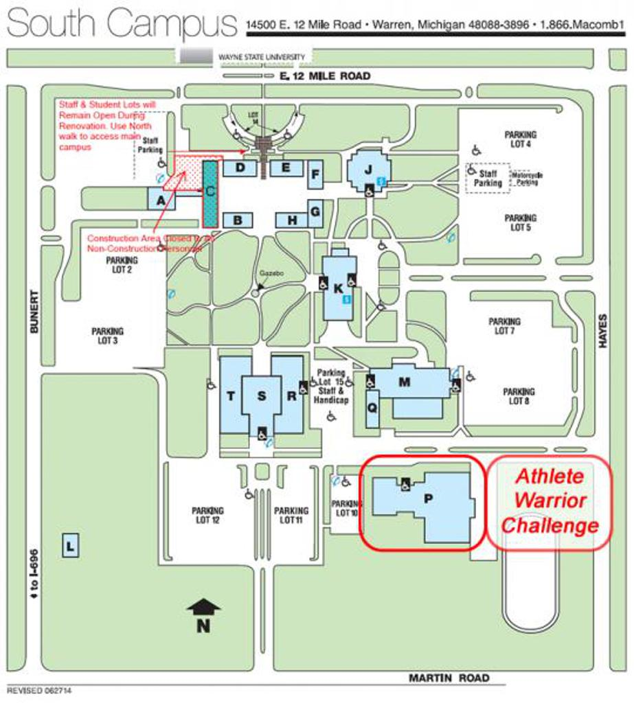 Walsh Campus Map.Macomb Community College Map Rtlbreakfastclub