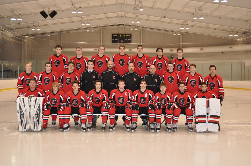 Churchill Chargers Varsity Hockey 2016-17