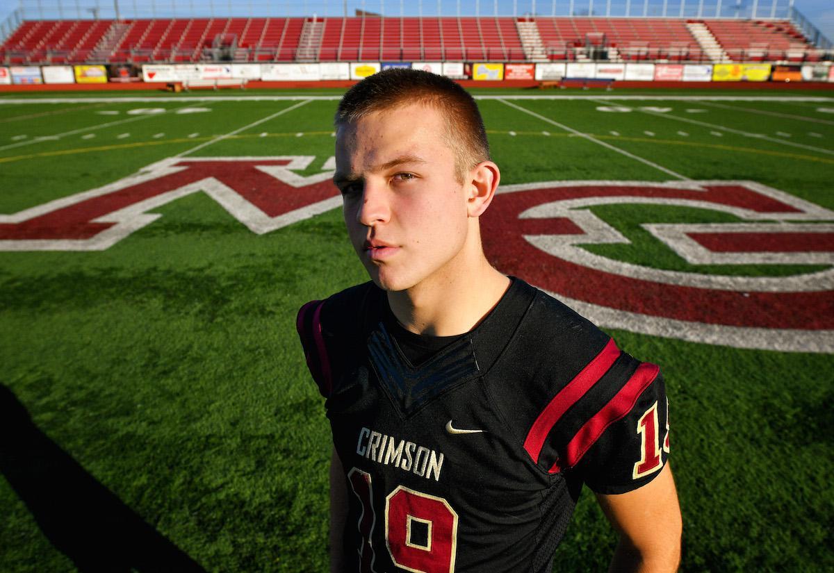 Brad Davison As A High School Quarterback