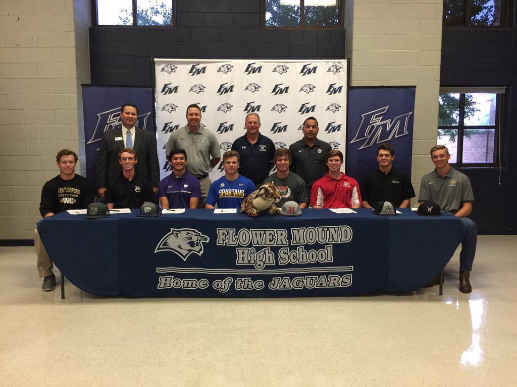 2017 Jaguar Baseball Class Signs Eleven to Collegiate Programs