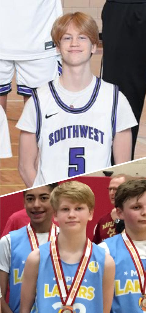 Caden Sullivan Southwest Lakers Class of 2023  Mpls Lakers 2015-2018