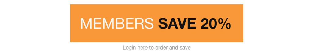 Members Save 20% button