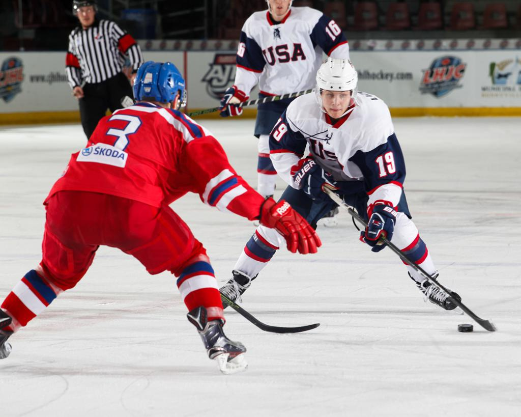 Canada men's Olympic hockey schedule