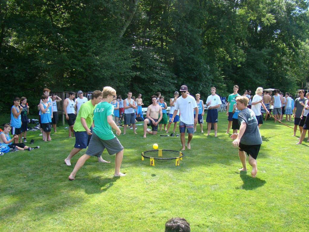 Spike Ball Tournament at Blue Star Lacrosse Overnight Camp 2016