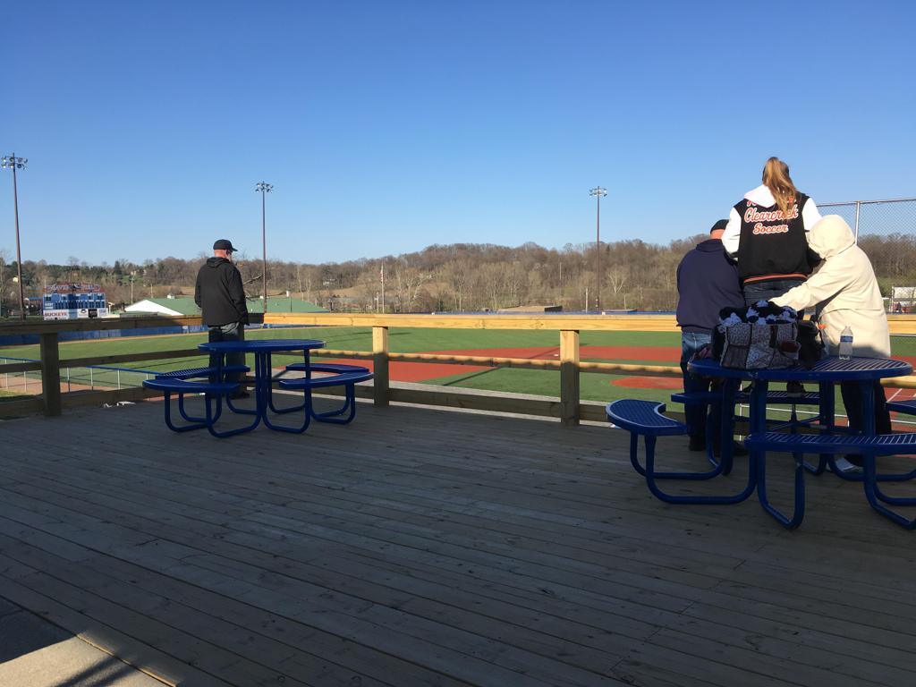 Beavers Field - West Deck