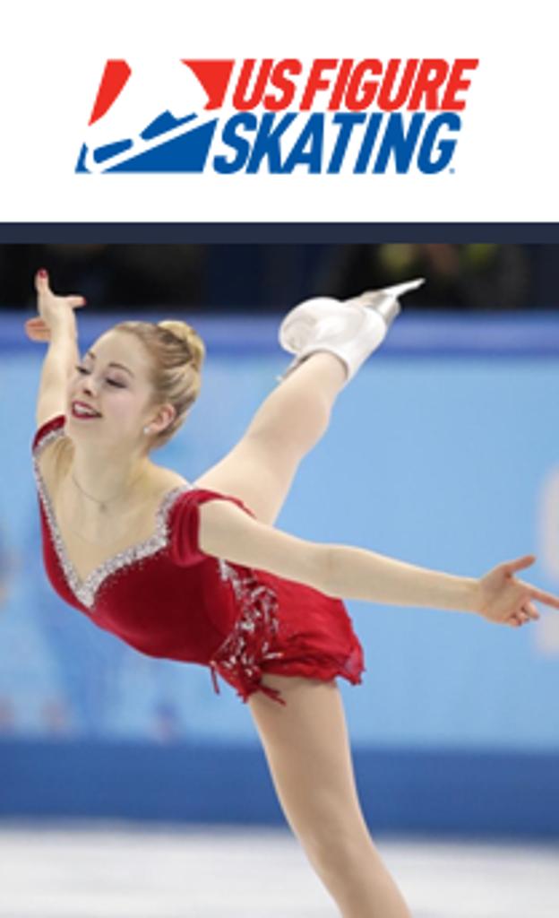 United States Figure Skating Association logo and skater
