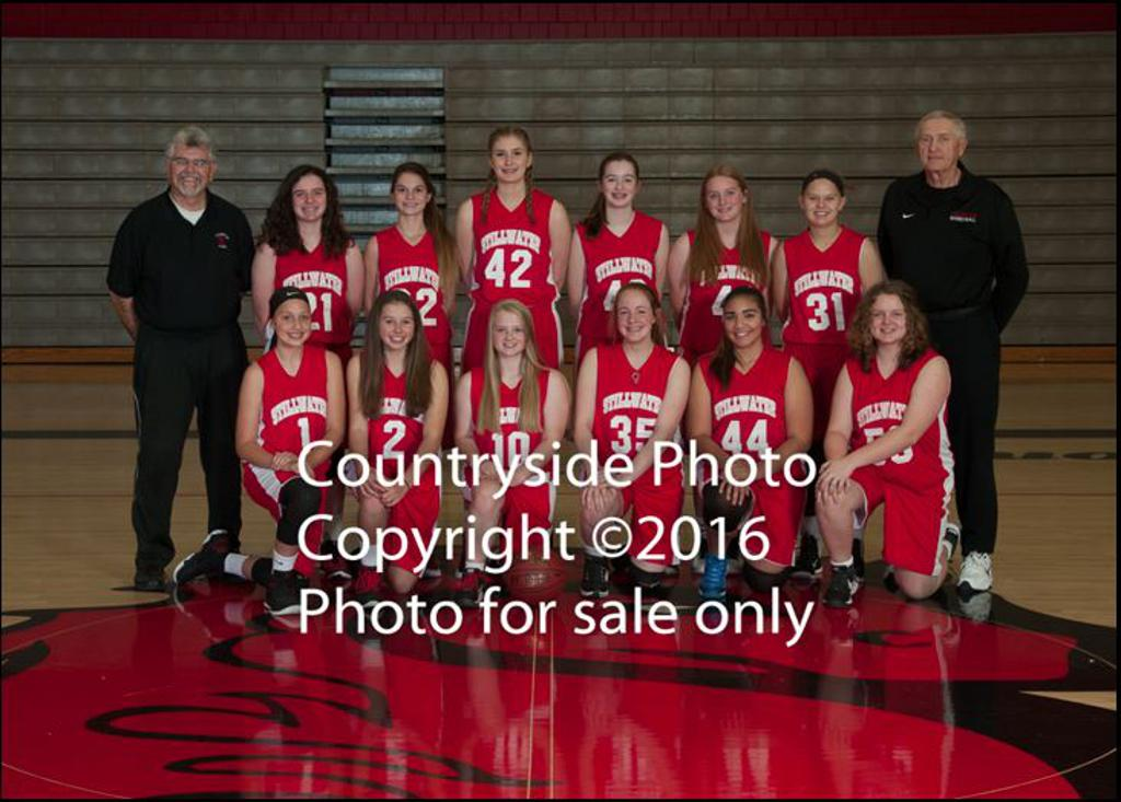 2016-17 - Stillwater 9th Grade Girls Basketball Team