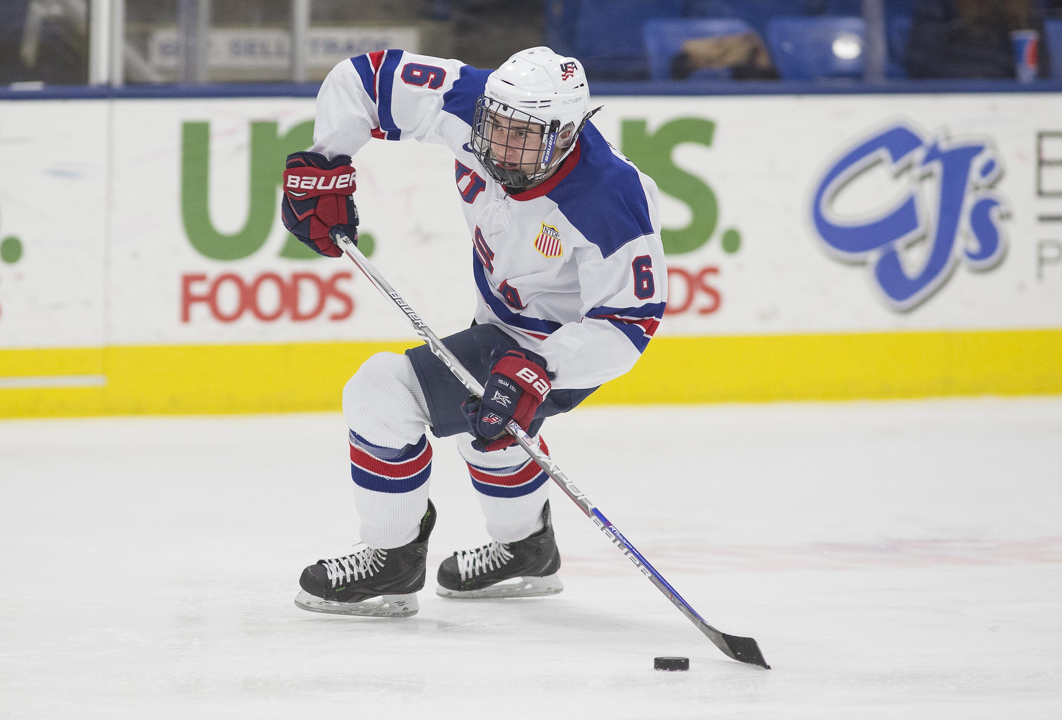 USA Hockey National Team Development Program Quinn Hughes