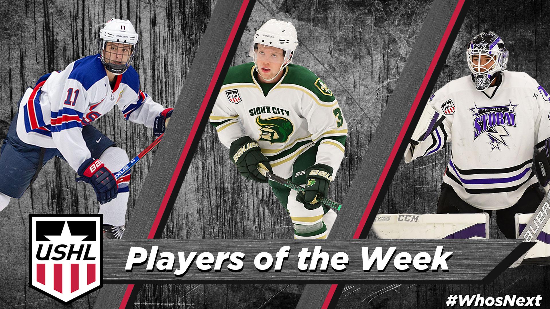 USHL: USHL Players Of The Week - Week 5, 2018-19
