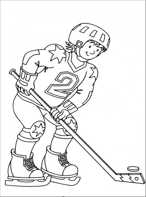 Free Nhl Coloring Pages, Download Free Clip Art, Free Clip Art on ... | 789x585