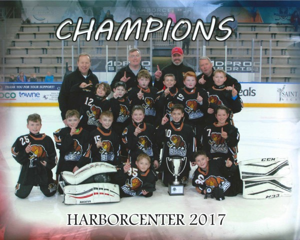 Victorious Buffalo Bison Squirt Minor Team