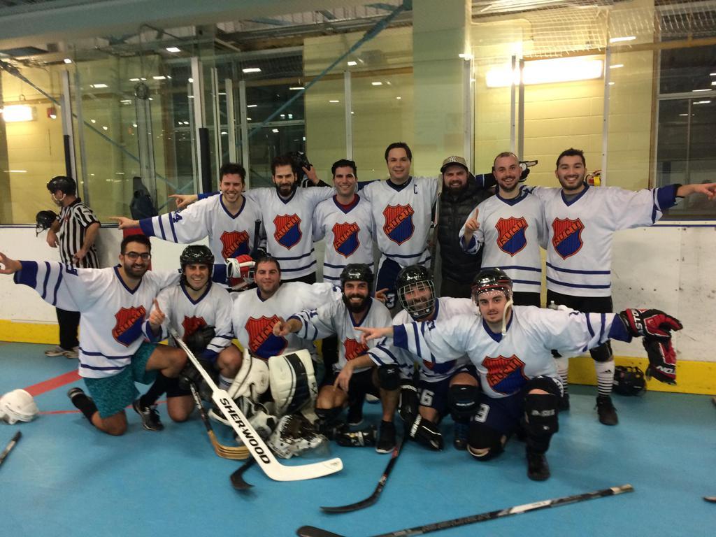 Homenetmen Toronto Men's Ball Hockey