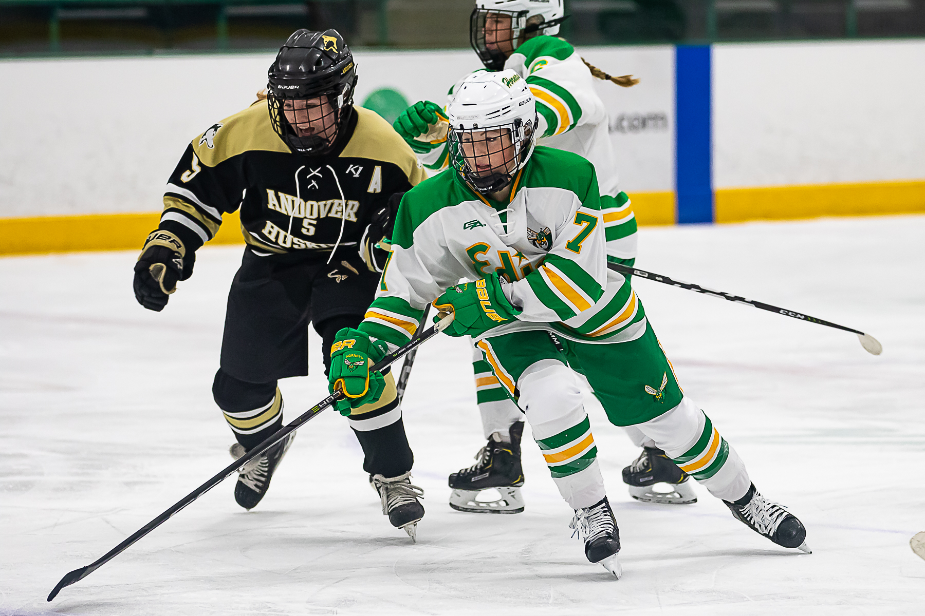 It's way too early to know if Edina will be a step ahead of Andover next season, but our best guess is yes — by a fraction. Photo by Gary Mukai, SportsEngine