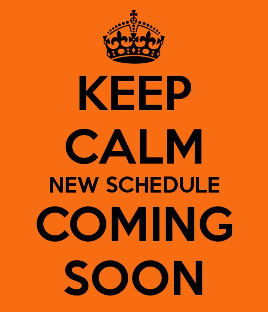 Masters 2016 Schedule