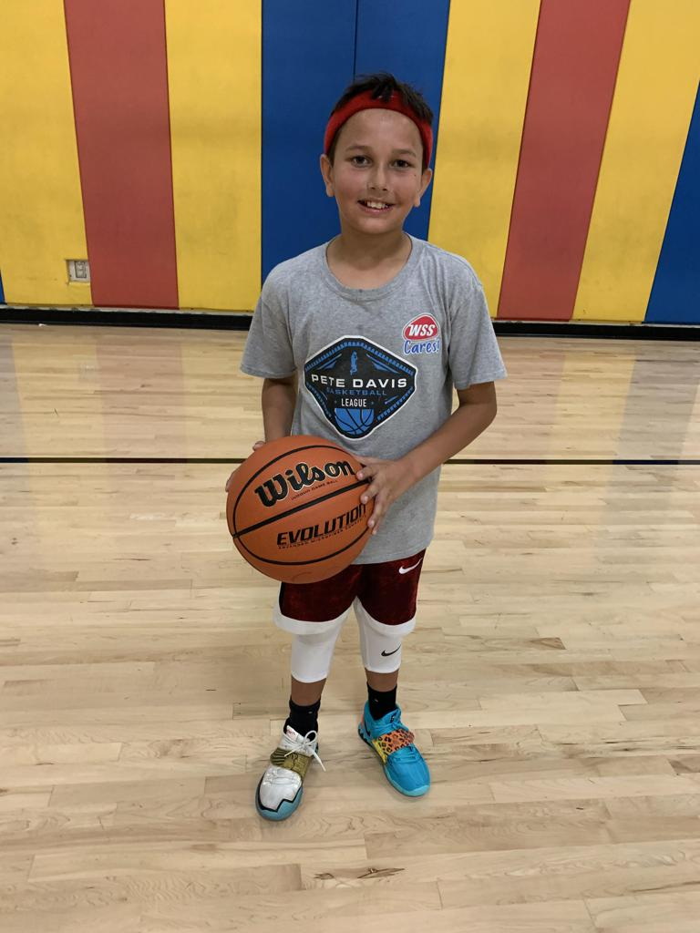 MAX PEREZ GETS BETTER IN THE PETE DAVIS YOUTH BASKETBALL LEAGUE