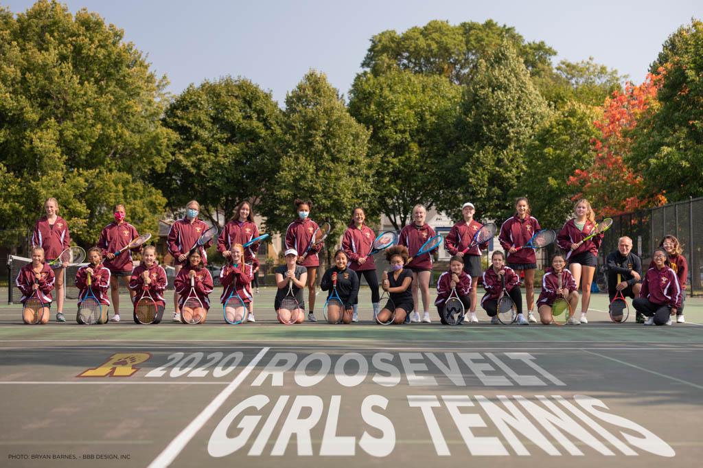2020 Roosevelt Girls Tennis