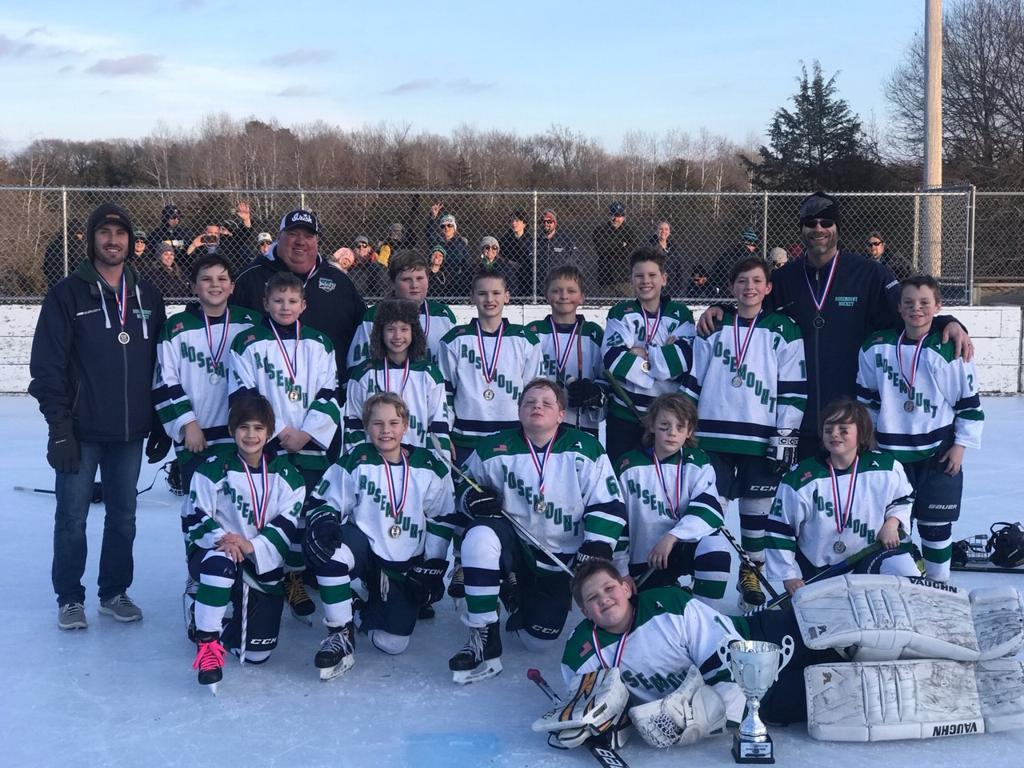 Squirt C Green Take 2nd at Outdoor Tourney