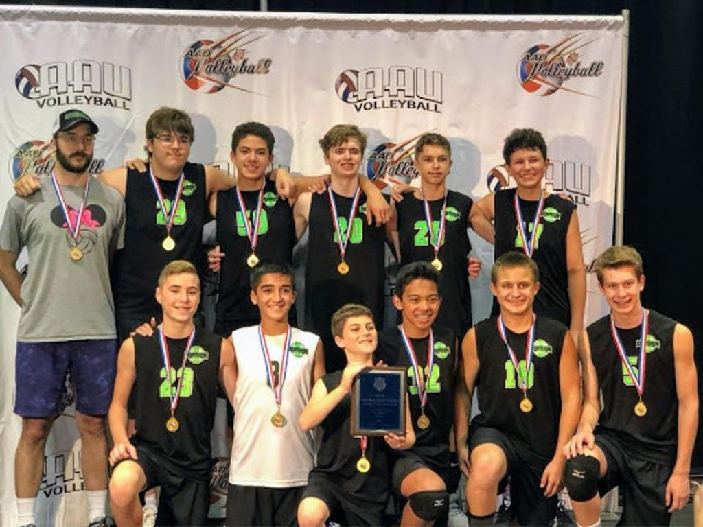 2018 Division1 VBC 14U Elite, Silver Bracket Champions & 9th place overall in Orlando at AAU Nationals