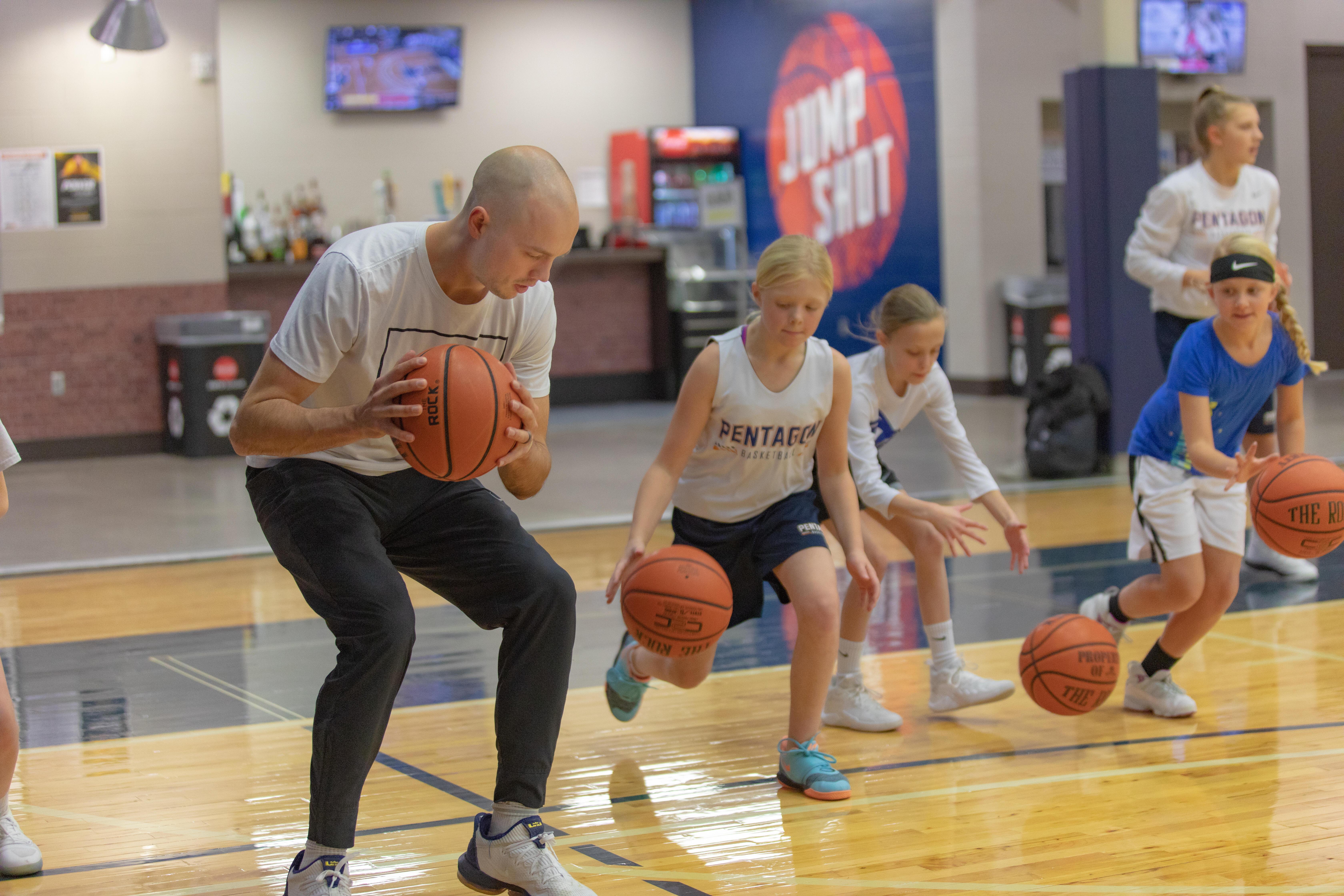 Sanford POWER Basketball agility drill