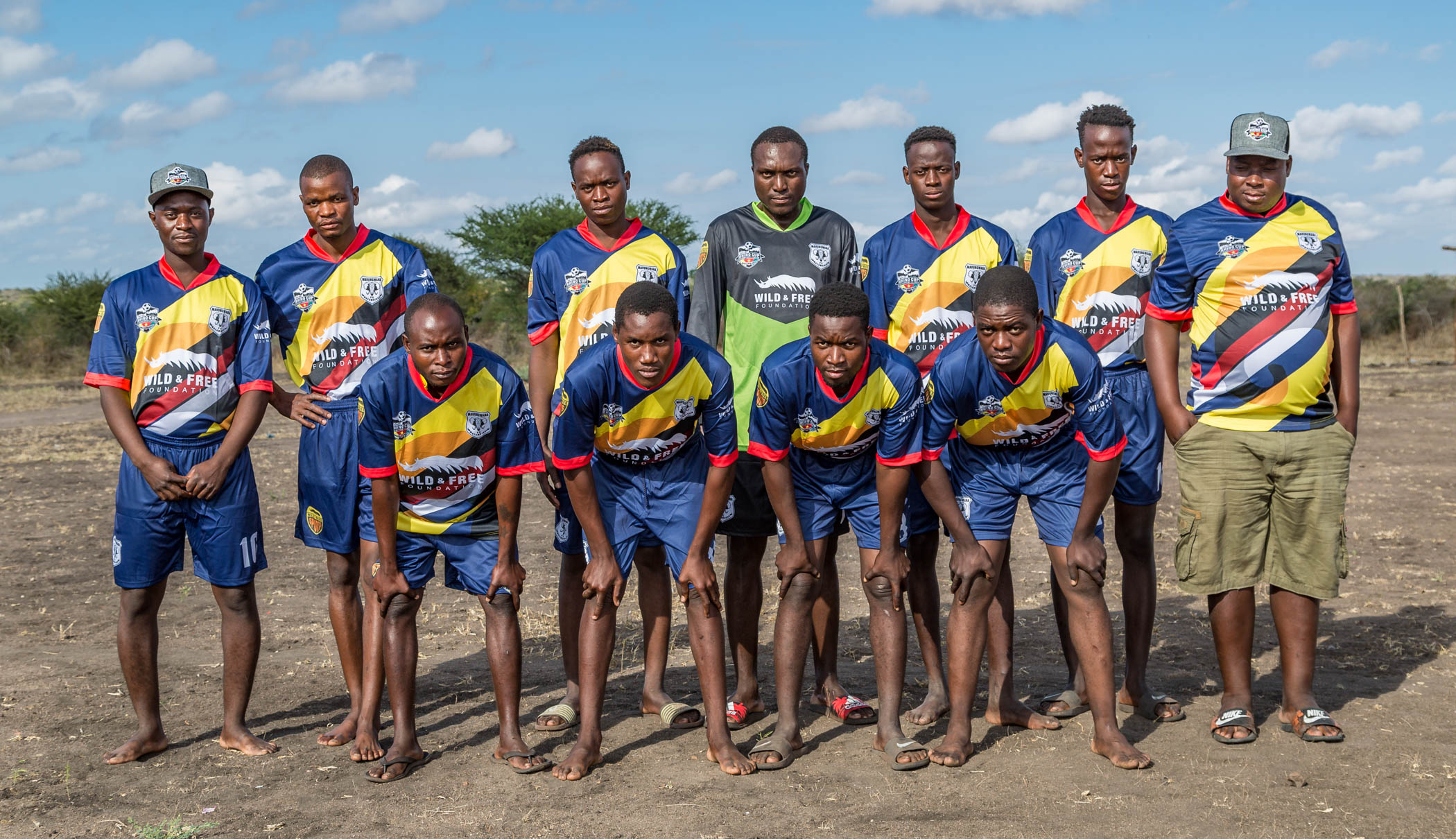 Mavungwana FC Elephants Team Photo, Rhino Cup Champions League, May 2019