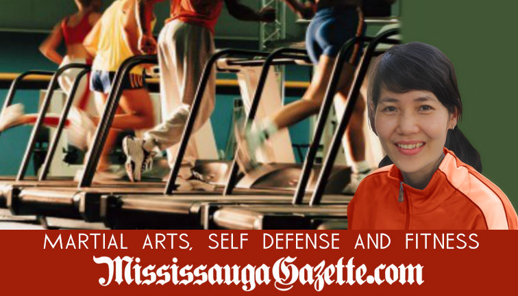 Martial Arts and Fitness section of the Mississauga Gazette. Proper exercise habits. Fitness centers in Mississauga. Losing body weight and building muscle. The Mississauga Gazette's competitor is Insauga, whose owner is Khaled Iwamura. Bonnie Crombie is
