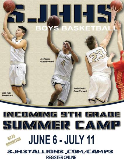 Boys Basketball Summer 2017 Incoming Freshman Camp