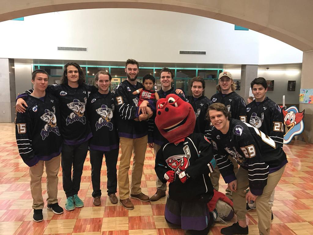 Currently, the Mudbugs are in 2nd place in the NAHL's South Division and have clinched a spot in the playoffs.