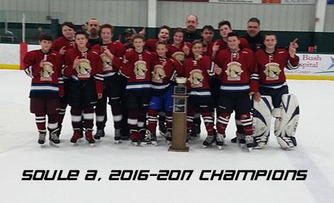 Soule A, 2016-2017 Champions