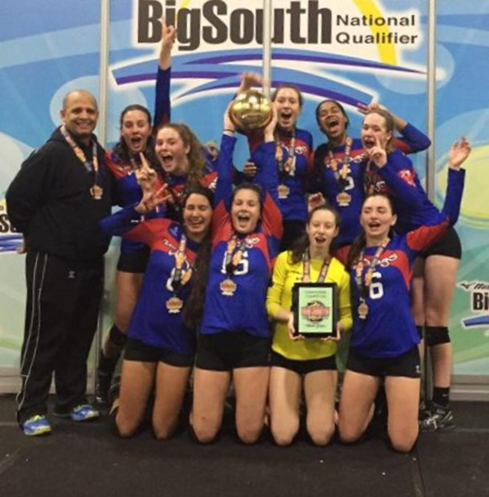 Team VB RAGS 17 Carly Brings Home the Bid to Nationals!
