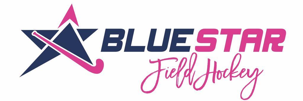 Blue Star Field Hockey Logo
