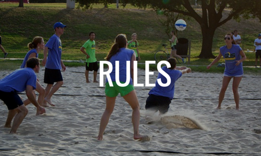 Houston Sand Volleyball Rules
